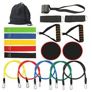 Exercise Kits Fitness Band Stretch Loops Resistance Bands Set with Fitness Tubes