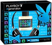 Playboy New York Eau De Toilette 50 Ml with FREE HEADPHONES
