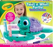 Bargain! Crayola Twirl N Whirl Turtle Spiral Arts and Crafts Toy at Amazon