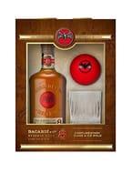 Bacardi Ocho Anos Rum Gift Pack, 70 Cl