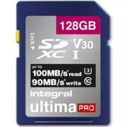 Integral 128GB UltimaPRO V30 Premium SD Card for £17.98