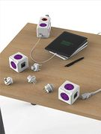 Allocacoc PowerCube Rewireable USB Power Socket plus International Travel Plugs