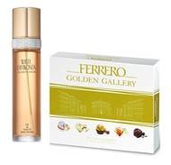 Ferrero Golden Gallery 22 Piece Assortment with White Diamonds Eau De Toilette