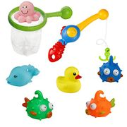 £9.99 for Bath Squirters Toys Water Play Set Fishing Game Toy Floating Set