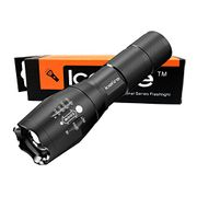 ICEFIRE K1 Zoomable Flashlight LED Torch Pocket-Sized Light 2000 Lumens