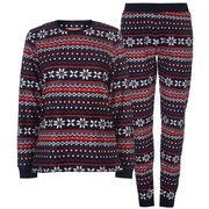The Spirit of Christmas Micro Fleece Pyjama Set Ladies