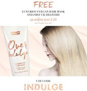Free Vegan Hair Mask with Orders over £20