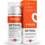 Retinol Face Serum with Hyaluronic Acid by Vonza