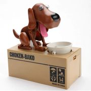 Cute Electric Hungry Eating Dog Money Boxes