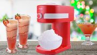 Retro Slushy Maker Machine Kit with Flavoured Syrup
