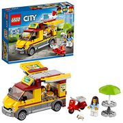 LEGO 60150 City Great Vehicles Pizza Van and Scooter Building Set