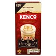 Kenco Baileys Latte Instant Coffee X8 Sachets 8 X 17.9g