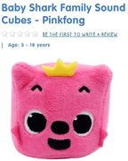 Baby Shark Family Sound Cubes SELLING OUT FAST!