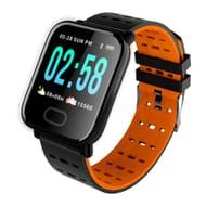 Bakeey A6 Sleep HR Blood Pressure Oxygen Monitor IP67 Waterproof Smart Watch