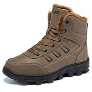 Men's Winter Snow Boots Fully Fur Lined Warm Boots 50% off