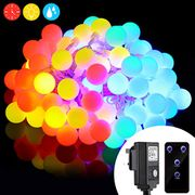 Get 50%OFF 10 Meters 100 LEDs Fairy Light with Remote, & 8 Model Waterproof