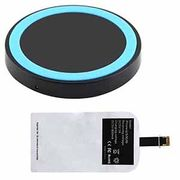 Qi Wireless Charger Charging Pad with Receiver for iPhone