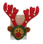 Light up Reindeer Nose and Headband Only £1.20