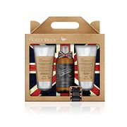 Baylis & Harding Fuzzy Duck Men's Ginger and Lime Luxury Grooming Trio Gift Set