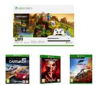 Xbox One S Minecraft Holiday Edition Forza Horizon 4 Tekken 7 & Project Cars 2
