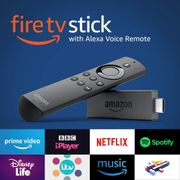 SAVE £15 - Fire TV Stick with Alexa Voice Remote   Streaming Media Player
