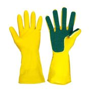 Home Washing Cleaning Scouring Pad Gloves Household Cleaning Tool