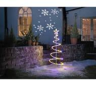 Argos Home Indoor and Outdoor Snowflake Projector