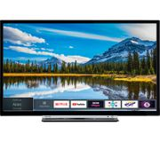 """TOSHIBA 40"""" Smart LED TV with Freeview HD & Freeview Play"""