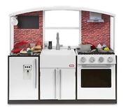 NEW Little Tikes Modern Toy Play Kitchen with Food & Utensil Accessories
