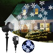 Christmas Snowflake Light Projector (Discount Code)