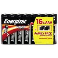 Energizer Alkaline Power AA or AAA Batteries 16-Pack