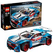 LEGO 42077 Technic Rally Car Toy, 2 In1 Buggy Model,Racing Construction Set