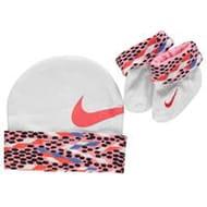 Nike Hat Bootie Set Baby Girls