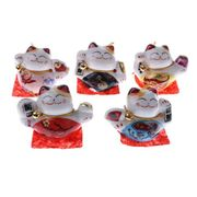 5 Set Chinese Lucky Cats FREE DELIVERY