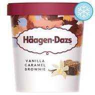 Haagen-Dazs Vanilla Caramel Brownie Ice Cream 40% OFF