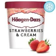 Haagen-Dazs Strawberries and Cream Ice Cream