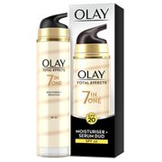 Olay 7-in-1 Total Effects Anti-Ageing Moisturiser and Serum Duo SPF 20