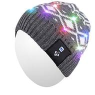 *Stack* Qshell Stylish Unisex Men Women LED Light up Beanie Hat