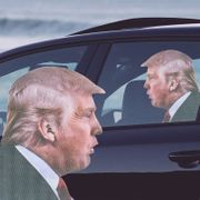 RideWith Me Sticker-Pretend You Have the Queen, Pope or Donald Trump in Your Car