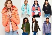 New Womens Superdry Jackets Selection