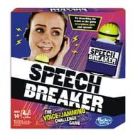 Speech Breaker Voice-Jamming Challenge Game