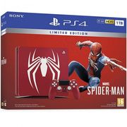 PLAYSTATION 4 1TB CONSOLE - LIMITED EDITION MARVEL'S SPIDER-MAN Only £319.95