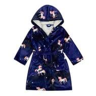 Purple Unicorn Dressing Gown