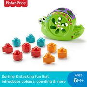 Fisher-Price Rock and Sort Snail Pail