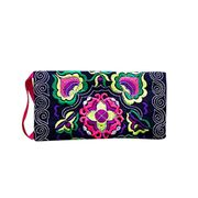 EMBROIDERED WRISTLET Purse