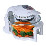 1400w 12ltr Halogen Oven in White or Black + Accessories