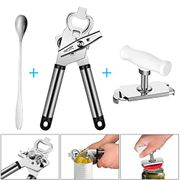 2 in 1 Can Opener Set with Code