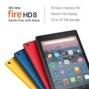 SAVE £20 - All-New Fire HD 8 Tablet with Alexa