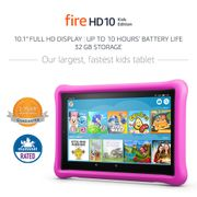 SAVE £40 - All-New Fire HD 10 Kids Edition Tablet, 32 GB, Pink