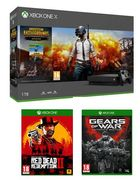 Xbox One X Console 1TB, PUBG, Red Dead Redemption 2 & Gears of War